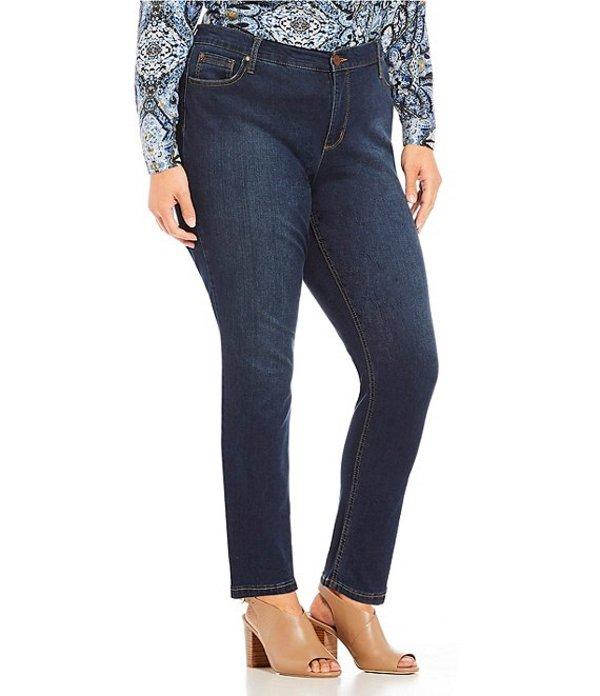 ジョーンズニューヨーク レディース デニムパンツ ボトムス Plus Size Lexington Curvy Skinny Jean Indigo
