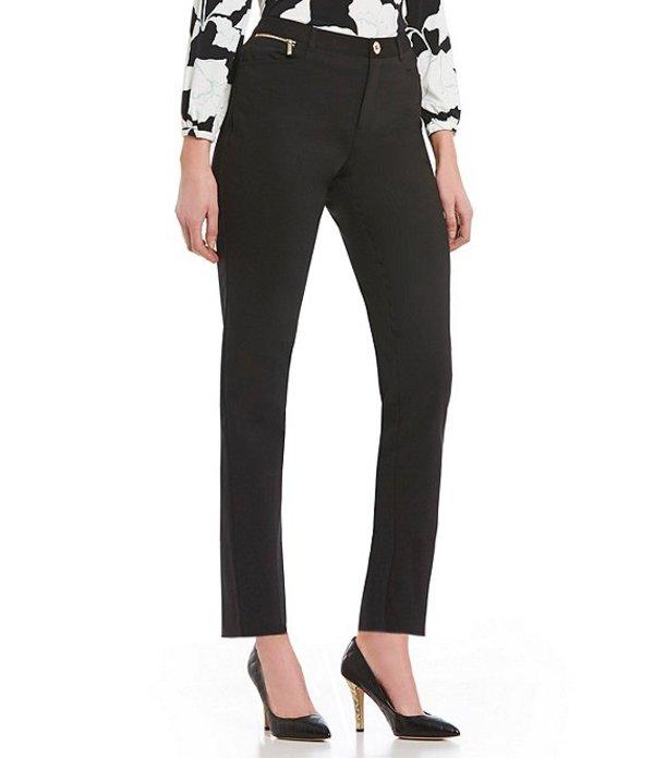 カール ラガーフェルド レディース デニムパンツ ボトムス Zipper Compression Skinny Pant Black
