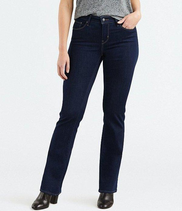 リーバイス レディース デニムパンツ ボトムス Levi'sR Curvy Bootcut Jeans Dark Smooth Rinse