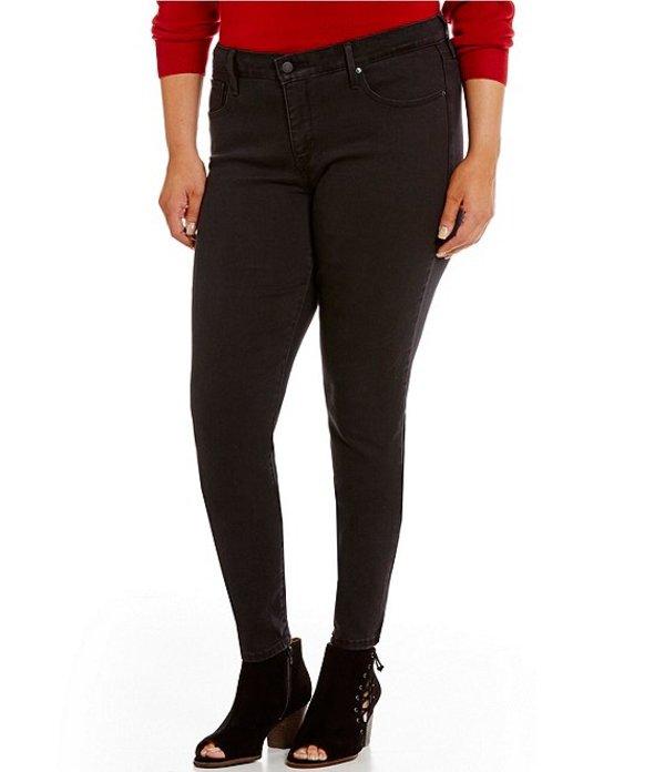 リーバイス レディース デニムパンツ ボトムス Plus Size 311 Shaping Skinny Jeans Soft Black