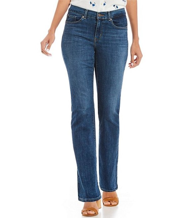 リーバイス レディース デニムパンツ ボトムス Levi'sR Floral Embroidered Classic Bootcut Jeans Blue Andromeda