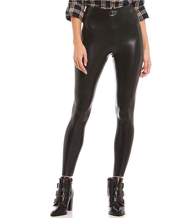 コマンドー レディース カジュアルパンツ ボトムス Faux Leather Leggings Black