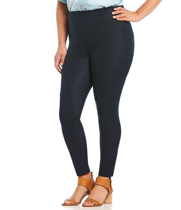 イントロ レディース カジュアルパンツ ボトムス Plus Size Love the Fit Slimming Denim Leggings Denim Indigo