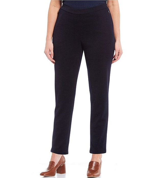 ジョーンズニューヨーク レディース カジュアルパンツ ボトムス Plus Size Grace Pull-On Knit Pants Navy