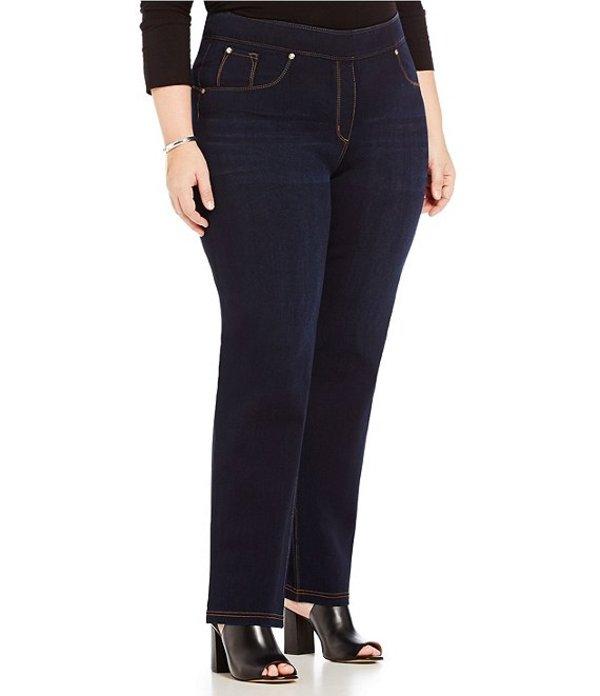 ピーター ナイガード レディース デニムパンツ ボトムス Nygard SLIMS Plus Luxe Denim Slim Straight Pants Twilight Wash