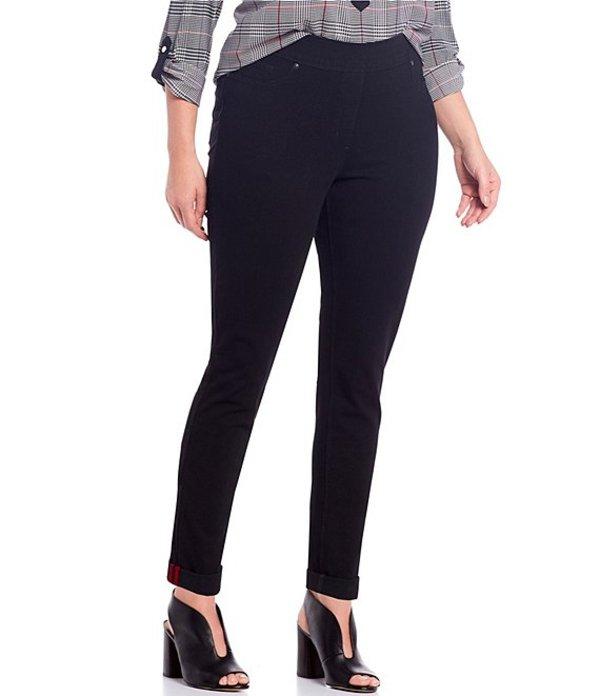 ピーター ナイガード レディース デニムパンツ ボトムス Nygard SLIMS Plus Luxe Denim Skinny Jeans Black