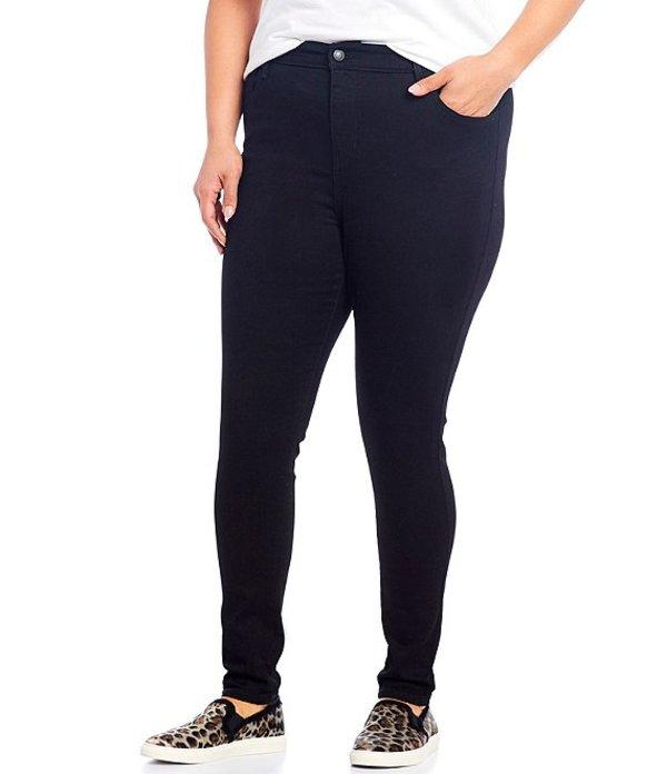 リーバイス レディース デニムパンツ ボトムス Plus Size 720 High Rise Super Skinny Jeans Black