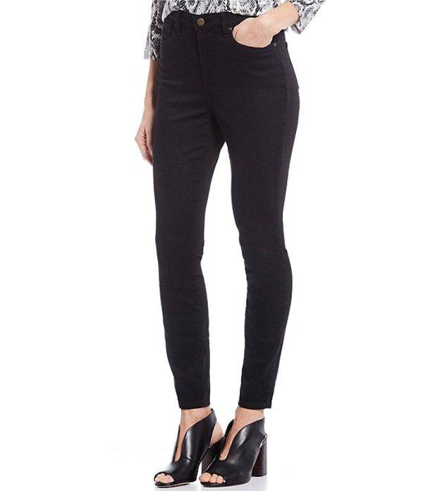エヌワイディージェイ レディース デニムパンツ ボトムス Ami High Rise Skinny Jeans Black Tambor