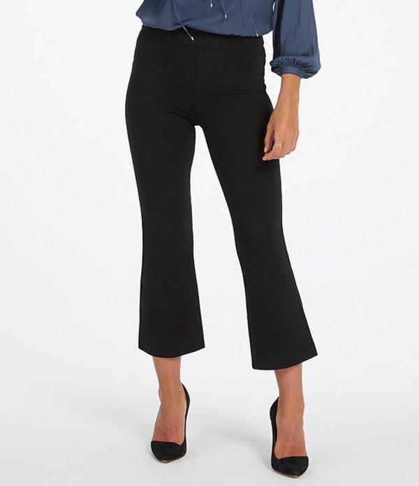 スパンク レディース カジュアルパンツ ボトムス The Perfect Black Pant, Cropped Flare Ponte Leggings Very Black