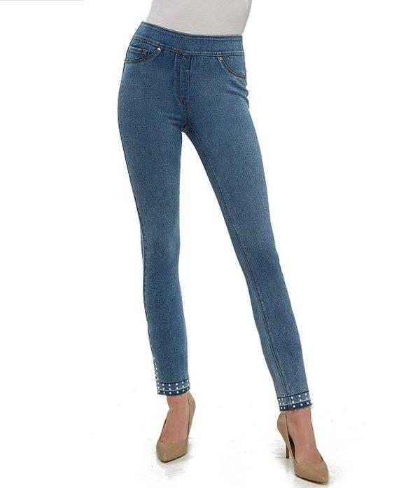 ピーター ナイガード レディース デニムパンツ ボトムス SLIMS Luxe Denim Ankle Release Hem Jeans Vintage Indigo
