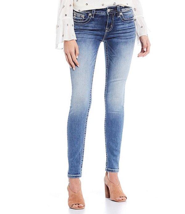 ミスミー レディース デニムパンツ ボトムス Hailey Embellished Dream Catcher Pocket Skinny Jeans Medium Blue