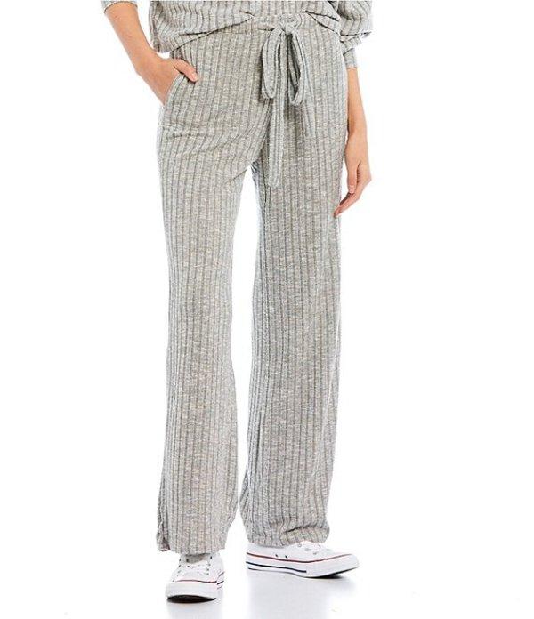 ビラボン レディース レギンス ボトムス Want It All Brushed Rib Knit Pants Ash Heather