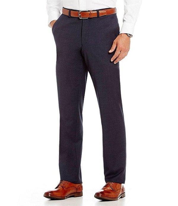 ダニエル クレミュ メンズ カジュアルパンツ ボトムス Flat-Front Modern Fit Travel Smart Dress Pants Blue
