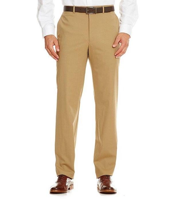 ハート シャフナー マルクス メンズ カジュアルパンツ ボトムス New York Tailored Modern Fit Flat-Front Dress Pants Tan
