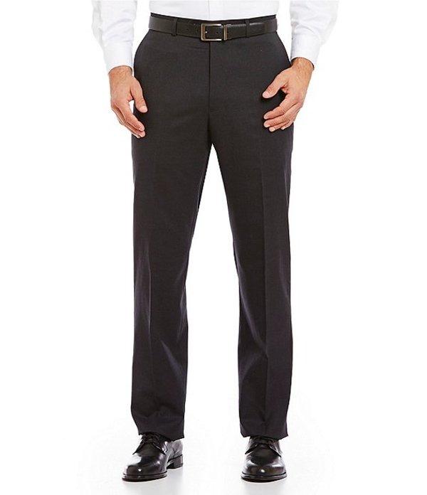 ハート シャフナー マルクス メンズ カジュアルパンツ ボトムス Tailored Flat-Front Chicago Dress Pants Charcoal