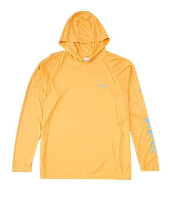 コロンビア メンズ ジャケット・ブルゾン アウター PFG Terminal Tackle Hoodie Summer Orange/Riptide