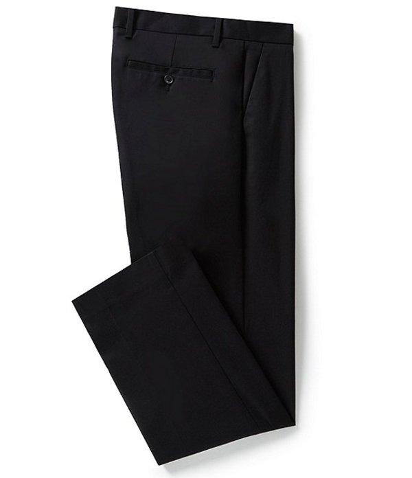 ムラノ メンズ カジュアルパンツ ボトムス Wardrobe Essentials Regular-Fit Flat-Front Chino Dress Pants Black