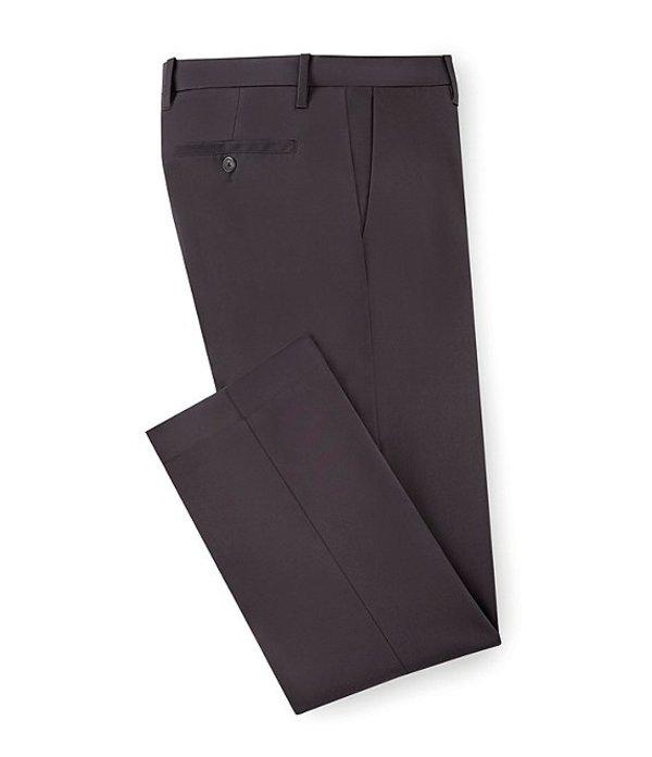 ムラノ メンズ カジュアルパンツ ボトムス Wardrobe Essentials Regular-Fit Flat-Front Chino Dress Pants Dark Grey