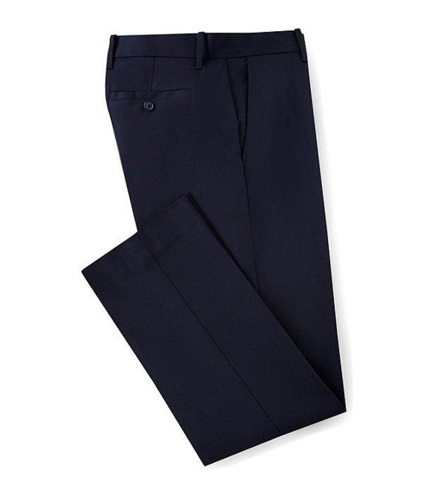 ムラノ メンズ カジュアルパンツ ボトムス Wardrobe Essentials Regular-Fit Flat-Front Chino Dress Pants Navy