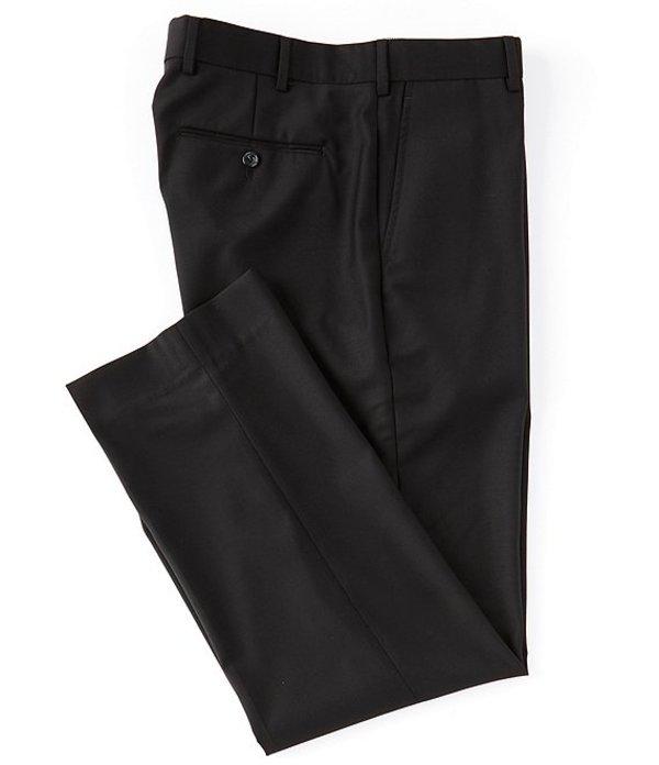 ハート シャフナー マルクス メンズ カジュアルパンツ ボトムス Flat-Front Classic Trouser Dress Pants Black
