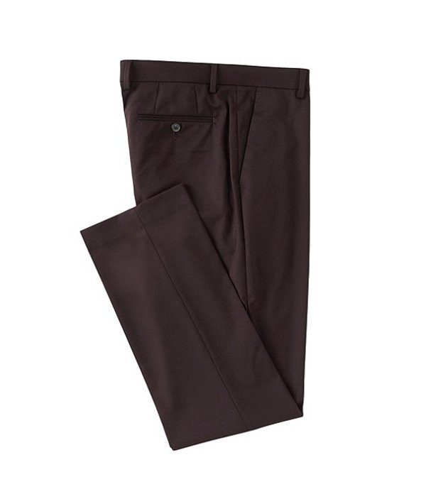ムラノ メンズ カジュアルパンツ ボトムス Seasonal Wardrobe Essentials Alex Slim-Fit Dress Pants Burgundy