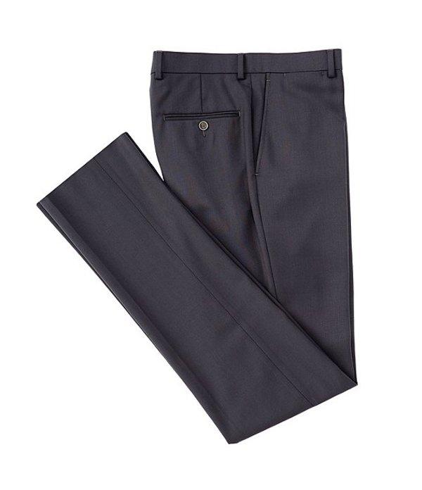 ハート シャフナー マルクス メンズ カジュアルパンツ ボトムス Modern Fit Solid Wool Dress Pants Dark Grey