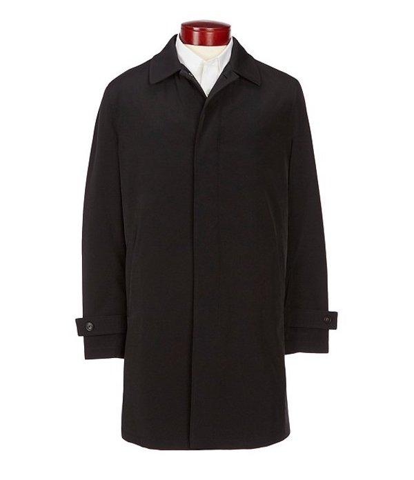 ハート シャフナー マルクス メンズ ジャケット・ブルゾン アウター Solid Black Honesdale All Weather Coat Black