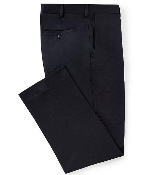 ラウンドトゥリーアンドヨーク メンズ カジュアルパンツ ボトムス Classic Fit Travel Smart Flat Front Microfiber Stretch Dress Pants Navy