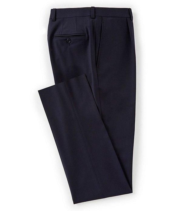 ダニエル クレミュ メンズ カジュアルパンツ ボトムス Modern Fit Pleated Travel Smart Solid Dress Pants Navy