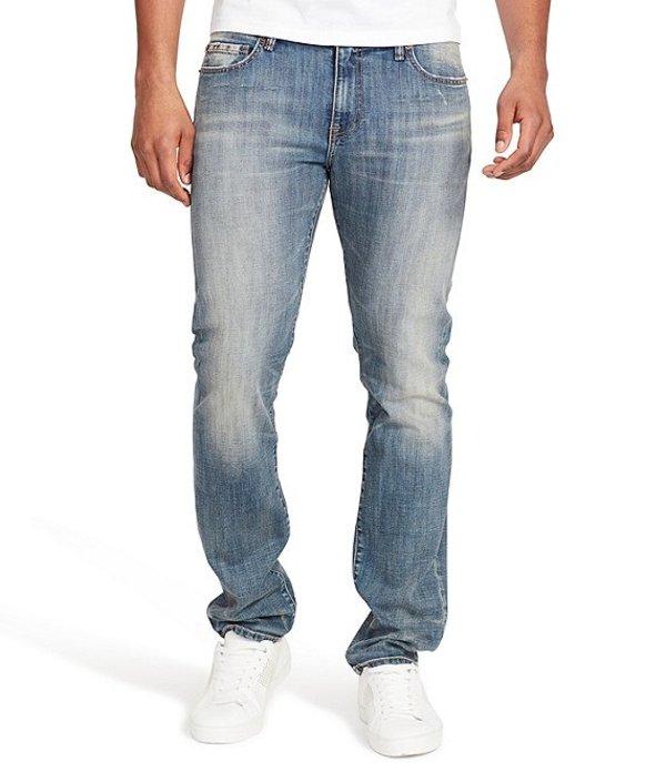 ウィリアム ラスト メンズ デニムパンツ ボトムス Dean Awosting Slim-Fit Straight-Leg Stretch Denim Jeans Awosting
