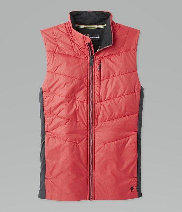スマートウール メンズ ジャケット・ブルゾン アウター Smartloft-X 60 Lightweight Windproof Stretch Full-Zip Vest Chili Pepper