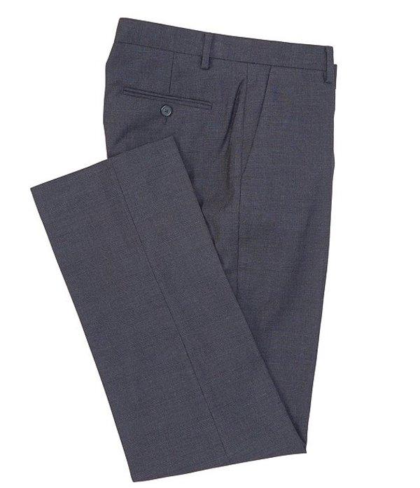 ムラノ メンズ ハーフパンツ・ショーツ ボトムス Zac Classic-Fit Plaid Navy Dress Pants Navy