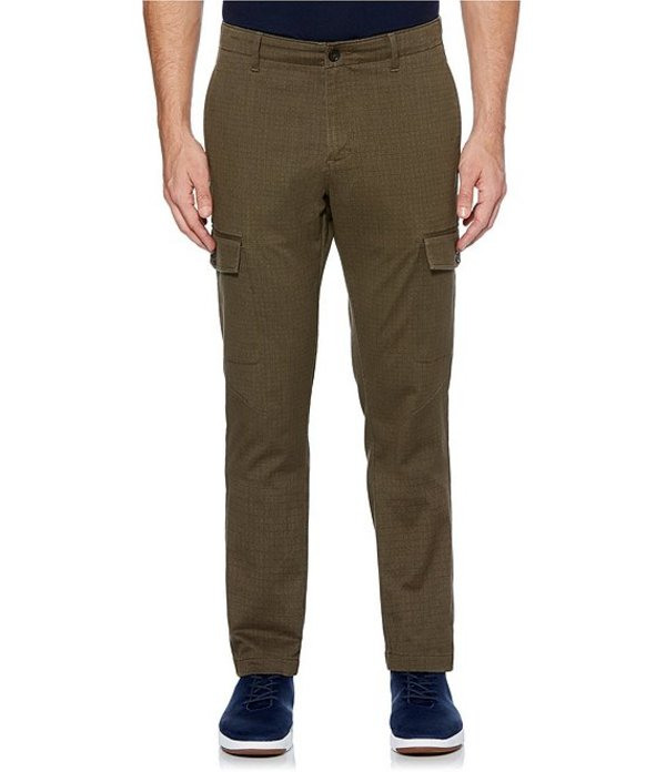 ペリーエリス メンズ カジュアルパンツ ボトムス Printed Stretch Cargo Pants Wren