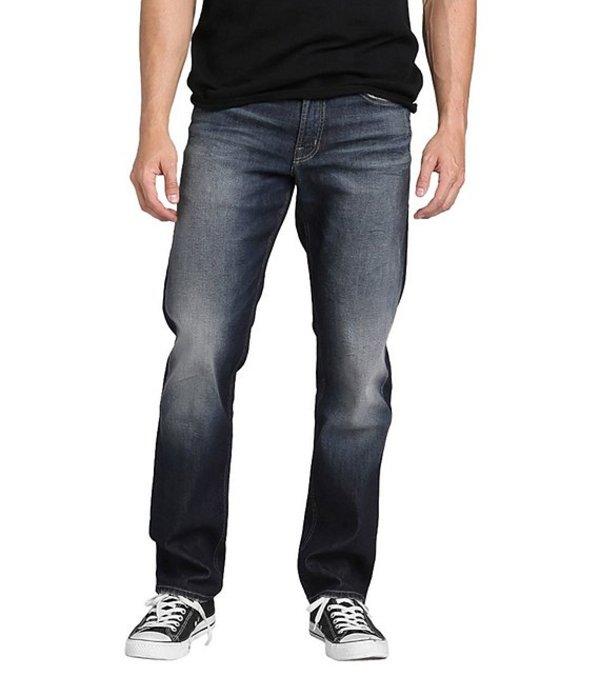 シルバー ジーンズ メンズ デニムパンツ ボトムス Eddie Relaxed Tapered-Fit Comfort Stretch Jeans Indigo