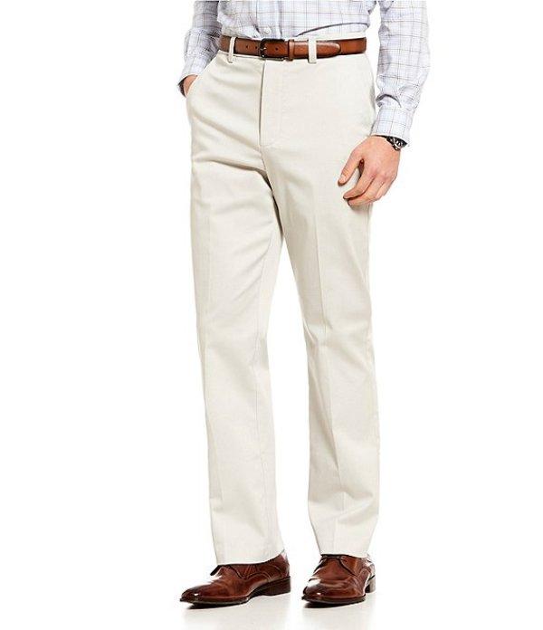ラウンドトゥリーアンドヨーク メンズ カジュアルパンツ ボトムス Big & Tall TotalFLEX Classic Fit Flat Front CoreComfort Waistband Easy Care Pants Stone