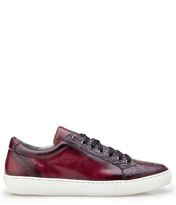 Just Cavalli Mens Textured Leather Fashion Sneakers Shoes US 10 IT 43