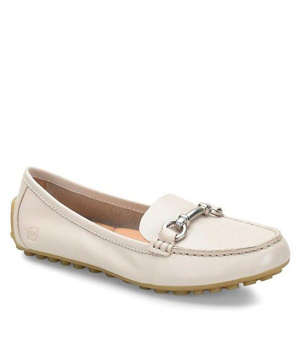 ボーン レディース スリッポン・ローファー シューズ Magnolia Driving Leather Loafers Off White