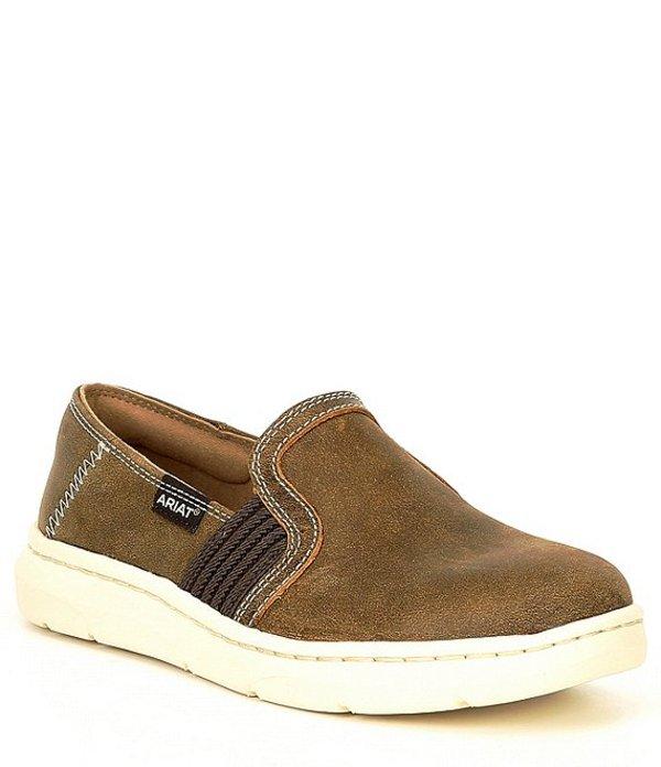 アリアト レディース スリッポン・ローファー シューズ Ryder Brown Bomber Slip On Shoes Brown Bomber