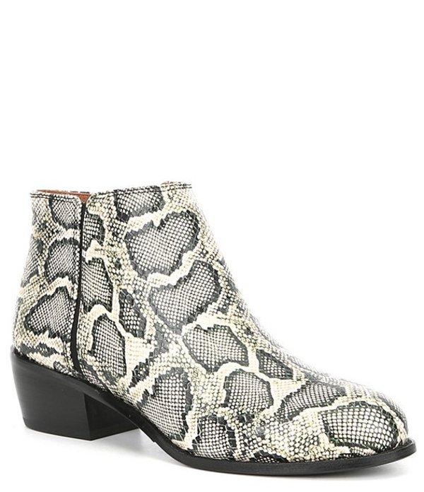 アントニオ メラーニ レディース ブーツ・レインブーツ シューズ Paxt Snake Print Leather Block Heel Booties Snake Multi