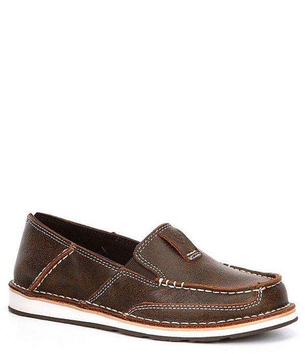 アリアト レディース スリッポン・ローファー シューズ Cruiser Leather Slip On Shoes Vintage Bomber