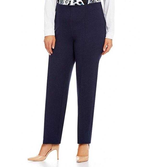 ピーター ナイガード レディース デニムパンツ ボトムス Nygard SLIMS Plus Luxe High Waist Straight Leg Pants Deep Navy
