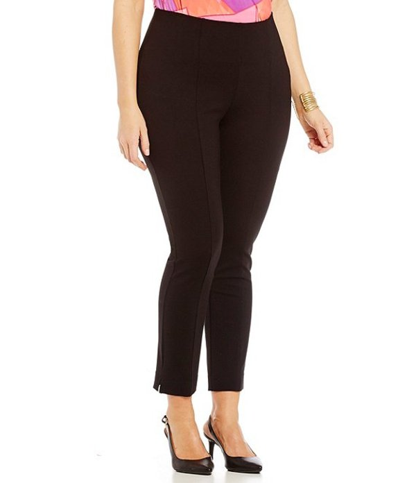 ピーター ナイガード レディース カジュアルパンツ ボトムス Nygard SLIMS Plus Luxe Waist Ankle Pants Black