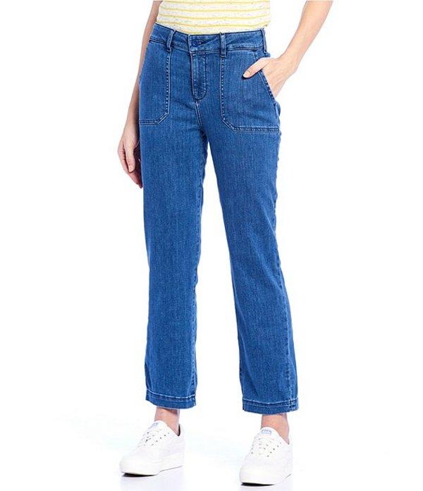 エヌワイディージェイ レディース デニムパンツ ボトムス Straight Leg Ankle Chino Jeans Peralta