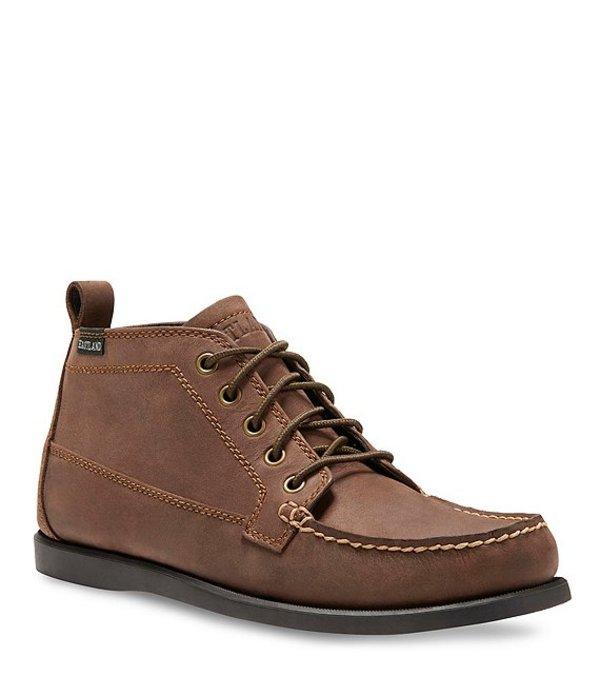 イーストランド メンズ ドレスシューズ シューズ Men's Seneca Bomber Leather Chukka Boot Bomber Brown