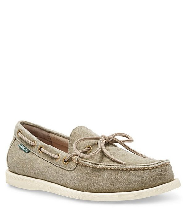 イーストランド メンズ デッキシューズ シューズ Men's Yarmouth Boat Shoe Olive