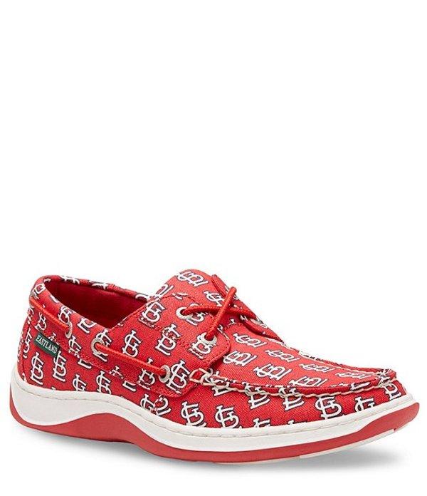 イーストランド メンズ デッキシューズ シューズ Summer MLB Cardinals Boat Shoe RED