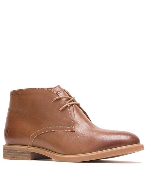 ハッシュパピー レディース ブーツ・レインブーツ シューズ Bailey Chukka Leather Block Heel Boots Dachshund Leather