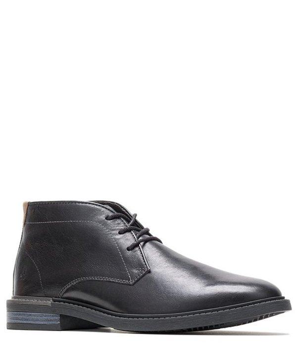 ハッシュパピー メンズ ブーツ・レインブーツ シューズ Men's Davis Leather Chukka Boot Black