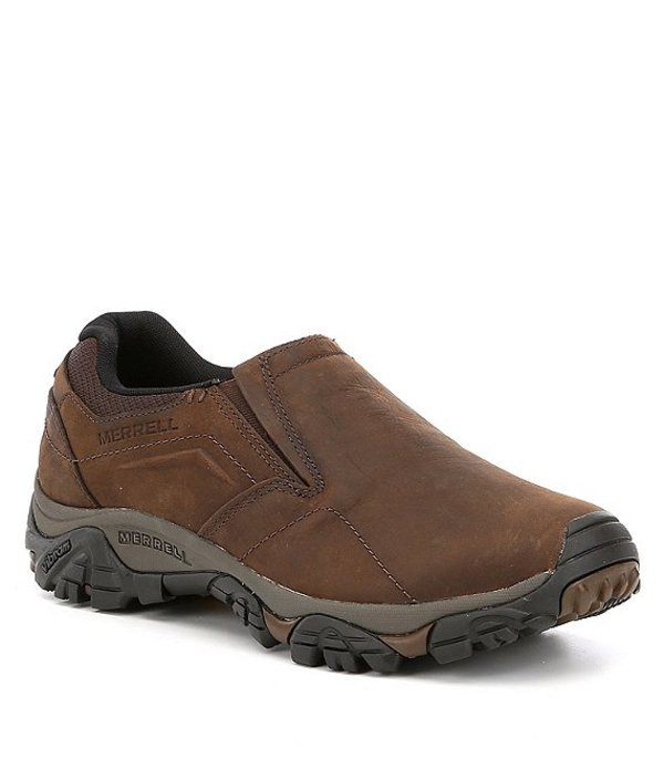 メレル メンズ スニーカー シューズ Men's Moab Adventure Moc Sneakers Dark Earth