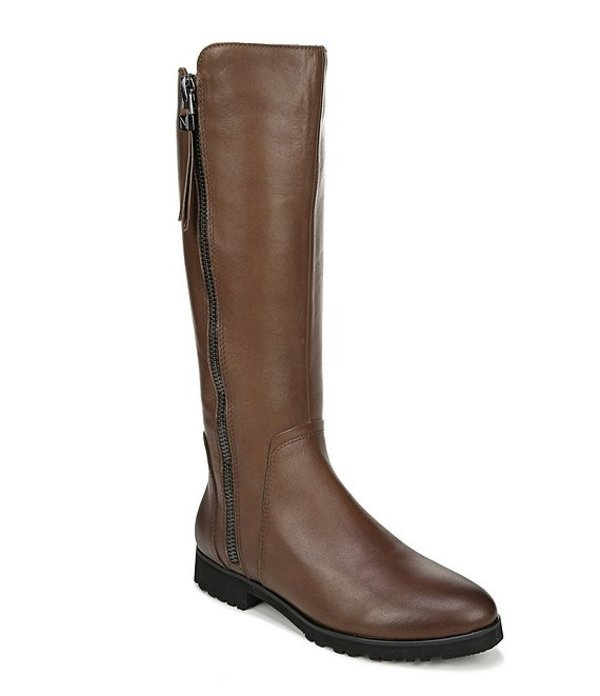 ナチュライザー レディース ブーツ・レインブーツ シューズ Gael Leather Tall Wide Calf Boot. Cinnamon WC Leather